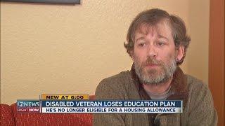 Disabled Veteran Loses Education Plan