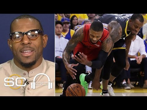 Andre Iguodala talks game-saving steal on Damian Lillard: 'I can be aggresive'  | SC with SVP