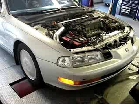 92 'lude h22a on Blueridge Motorsports Dyno!