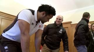 England Rugby Stars Back QBE Coaching Club Initiative