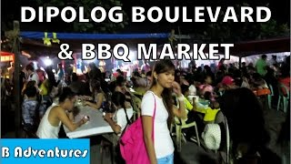 Dipolog Philippines  city photo : Dipolog Boulevard BBQ Market, Gabby's B&B Dumaguete, Philippines S2 Ep28