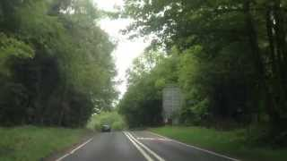 Liphook United Kingdom  city pictures gallery : Driving from Liphook to Rake on B2070, Surrey county, England