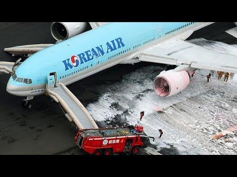 Τόκιο: Συναγερμός για πυρκαγιά σε αεροσκάφος της Korean Air