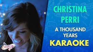 "Karaoke de la canción ""A thousand years"" de Christina PerriSUSCRIBETE para que no te pierdas los próximos karaokes y compártelos con tus amigos! https://www.youtube.com/user/CANTOYO Síguenos en redes sociales para sumarte a la comunidad más grande de Karaoke en español : Facebook : https://www.facebook.com/CantoYoESP/?fref=tsTwitter : https://twitter.com/CantoYoESP?p=sHeart beats fastColors and promisesHow to be braveHow can I love when I'm afraid to fallBut watching you stand aloneAll of my doubt, suddenly goes away somehowOne step closerI have died everyday, waiting for youDarling, don't be afraid, I have loved you for a thousand yearsI'll love you for a thousand moreTime stands stillBeauty in all she isI will be braveI will not let anything, take awayWhat's standing in front of meEvery breath, every hour has come to thisOne step closerI have died everyday, waiting for youDarling, don't be afraid, I have loved you for a thousand yearsI'll love you for a thousand moreAnd all along I believed, I would find youTime has brought your heart to me, I have loved you for a thousand yearsI'll love you for a thousand moreOne step closerOne step closerI have died everyday, waiting for youDarling, don't be afraid, I have loved you for a thousand yearsI'll love you for a thousand moreAnd all along I believed, I would find youTime has brought your heart to me, I have loved you for a thousand yearsI'll love you for a thousand more"