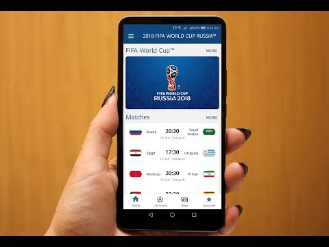 Best App For Fifa World Cup 2018 Live Match, Schedule, Points, News