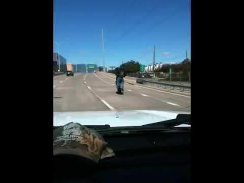 Pu**y Cop vs Motorcycle