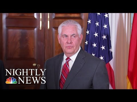 White House Considering Plan To Replace Rex Tillerson With Pompeo | NBC Nightly News