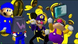 The Wacky Wario bros: Money Mayhem