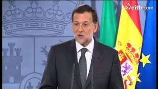 Mariano Rajoy eta Mario Monti Madrilen batzartu dira goizean. Europar Batasuna presionatu nahi dute, batez ere, bankuen batasuna eta batasun fiskala ...