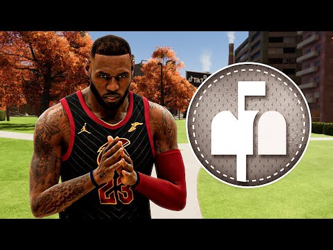 I put POST TAKEOVER on my LEBRON JAMES BUILD in NBA 2K21