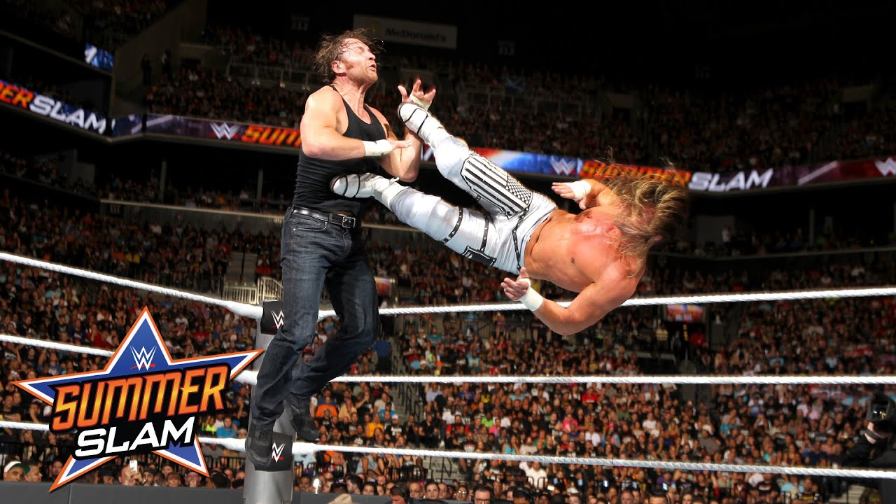 Dean Ambrose vs. Dolph Ziggler – WWE World Title Match: SummerSlam 2016, only on WWE Network