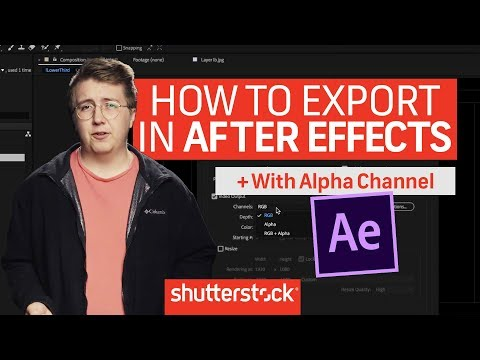 How To Export In After Effects | Motion Graphics Tutorials