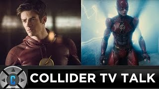 Will TV's The Flash Grant Gustin Appear In The Flash Movie? - Collider TV Talk by Collider