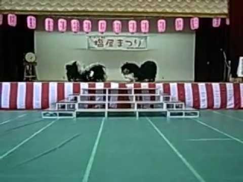 塩屋青年会(神戸)獅子舞.AVI