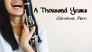 Download Lagu A Thousand Years- Christina Perri (Clarinet Cover) Mp3