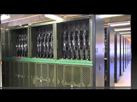 Spacesaver Weapons Rack Storage System Reigns Supreme