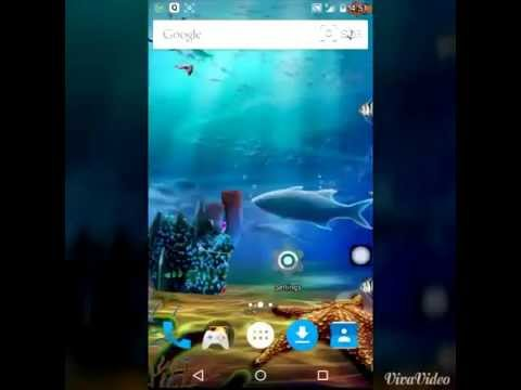 Video of Aqua Life Live Wallpaper