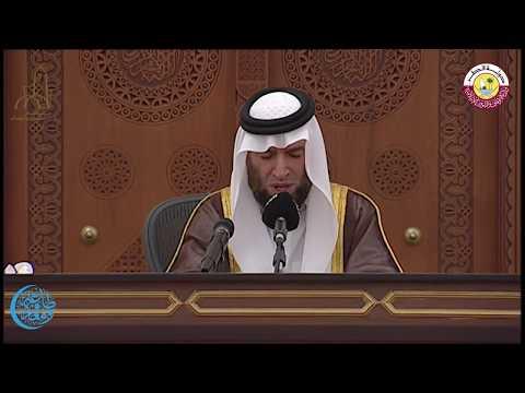 درس التراويح بجامع الامام للشيخ/ حسام السامرائي يوم الأحد 2 رمضان 1438 هجريا