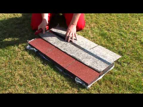 DIY How to apply shingles – Easy Shingle – on your roof (garden shed)