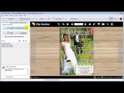 Flip PDF - Convert PDF to Page Flipping eBook