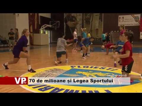 70 de milioane de euro și Legea Sportului