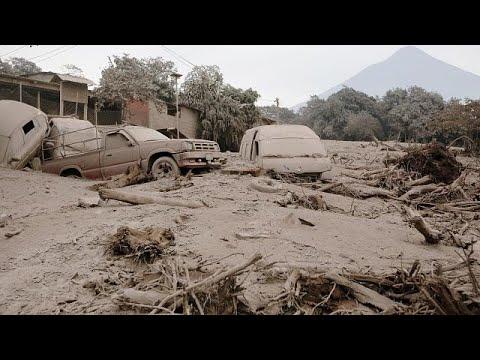 Guatemala: 62 Tote nach Ausbruch des Feuervulkans