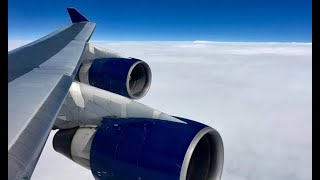 (HD) 23 Hours on a Delta Air Lines Boeing 747-400  - DTW-NRT-DTW, Full Flight, Window View