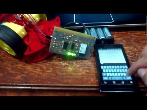 Video of Bluetooth microcontrolador