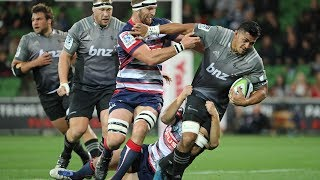 Rebels v Crusaders Rd.14 Super Rugby Video Highlights 2017
