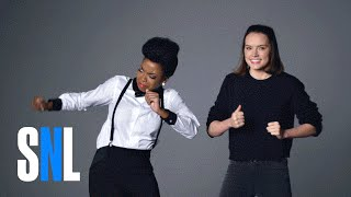 Video Bonus Footage: Star Wars Auditions (Daisy Ridley, Matthew McConaughey & John Boyega) - SNL MP3, 3GP, MP4, WEBM, AVI, FLV Maret 2018
