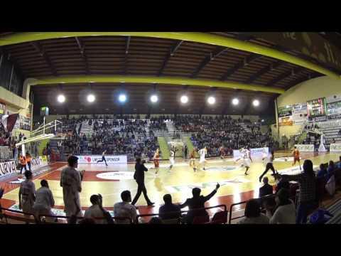 Basket Serie A2 Ovest – Ferentino – Virtus Roma 1 e 2 Quarto.