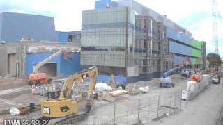 UWM Freshwater Sciences Building Construction Timelapse as of 01-12-2014