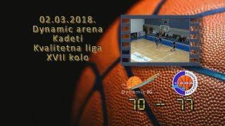 kk dynamic kk sava 70 77 (kadeti, 02 03 2018 ) košarkaški klub sava