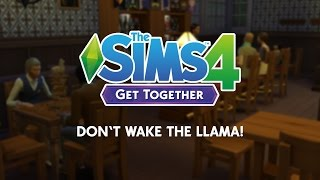 The Sims 4 Get Together: Don't Wake The Llama!, EA Games, video games
