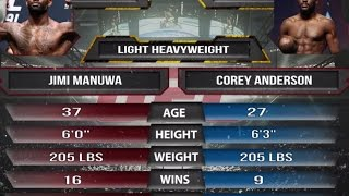 Nonton UFC Fight Night 107  Manuwa vs Anderson   March 18th FIGHT PREVIEW Film Subtitle Indonesia Streaming Movie Download