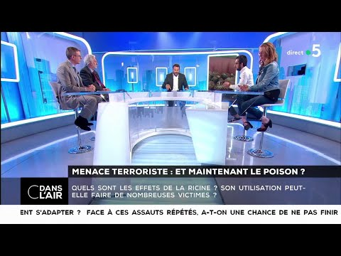 Love SMS - Menace terroriste : et maintenant le poison ? - Les questions SMS #cdanslair 18.05.2018