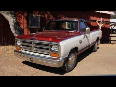 1985 Dodge RAM Cummins Diesel Prototype — Dodge Diesel Truck History Lesson