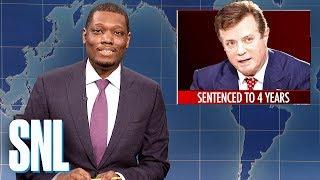Weekend Update: Paul Manafort Sentenced to Prison - SNL