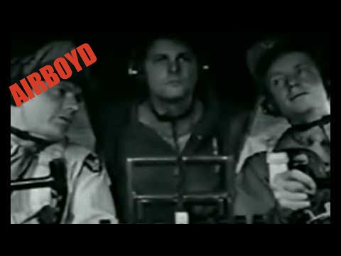 B17 - Military training film in which an instructor trains a new B-17 bomber pilot in proper procedure and technique while airborne.