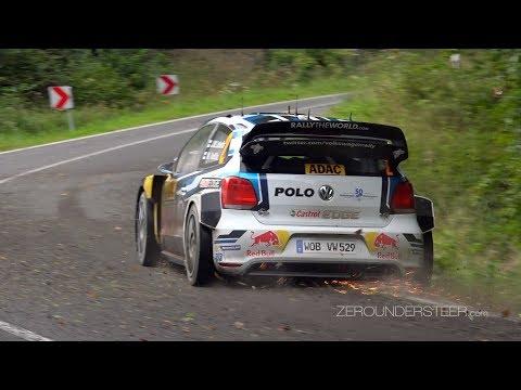 WRC Germany 2016 | crash, mistakes & flatout action