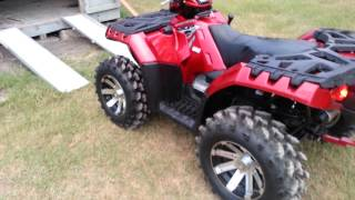 10. Polaris Sportsman 850XP Big Gun Exhaust