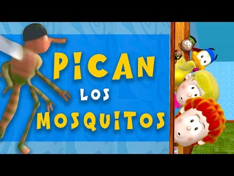 Pican Los Mosquitos - Biper Y Sus Amigos - (Video Oficial)