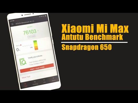 Xiaomi Mi Max Antutu Benchmark |  Snapdragon 650 3GB RAM 32GB ROM