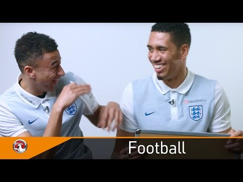 Download Smalling and Lingard hear tales about their childhoods   Mother's Day   Vauxhall