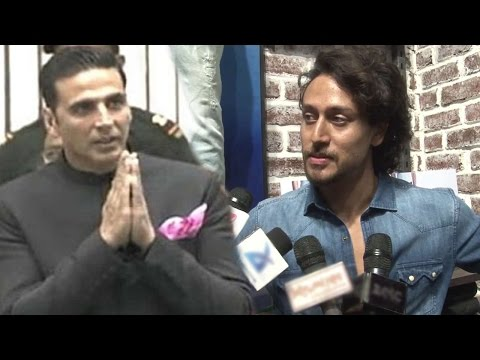 Video Tiger Shroff On Akshay Kumar Winning National Award For Rustom download in MP3, 3GP, MP4, WEBM, AVI, FLV January 2017