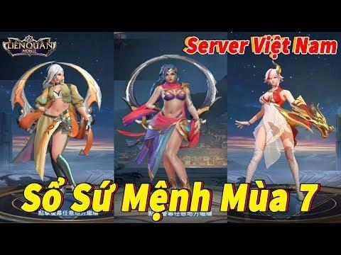 Liên quân Sổ Sứ Mệnh Mùa 7 Cấp 60 Việt Nam Tướng Yena và Lindis Nữ Hoàng Pháo Hoa [Bản Nháp] - Thời lượng: 10:05.