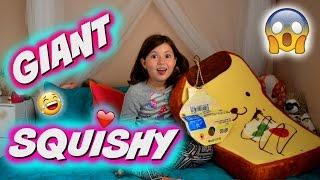 THE BIGGEST SQUISHY IN THE WORLD!!! Squishy DIY   Sedona Fun Kids TV