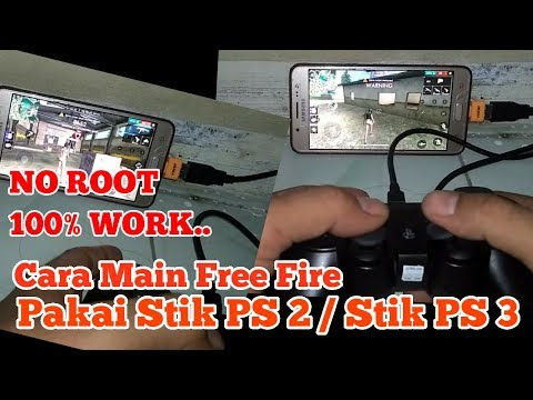 Cara main Free Fire pakai stik ps 2 / stik ps 3 no root ( mapping octopus )