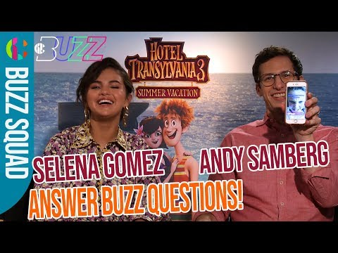 Selena Gomez and Andy Samberg React to kids' questions!