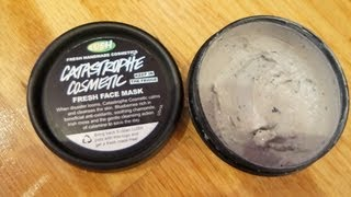 LUSH Fresh Face Mask Review: Catastrophe Cosmetic | MonicaBorowik